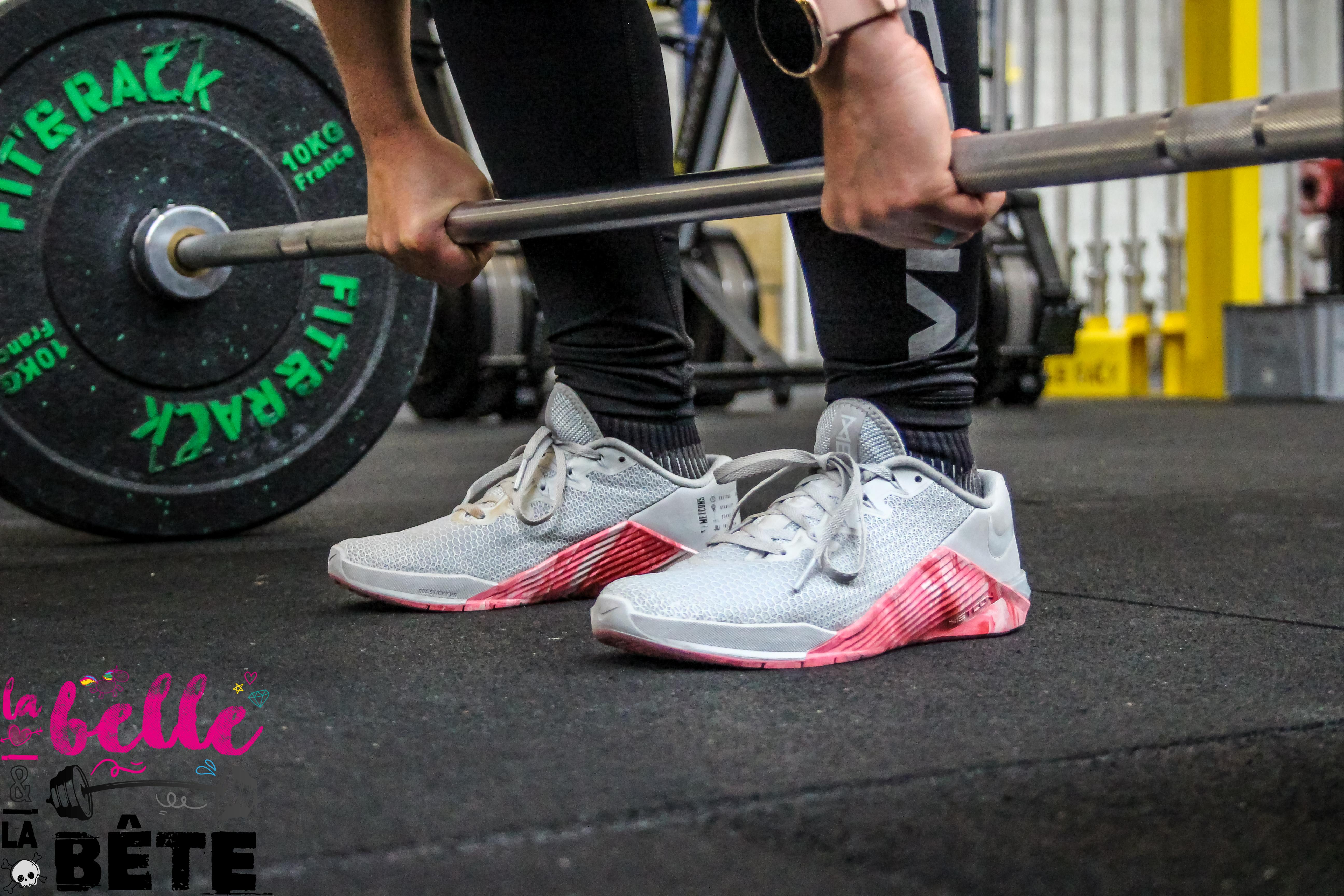 J'ai testé les Nike Metcon 5